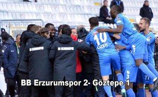 BB Erzurumspor, Göztepe'yi eli boş gönderdi