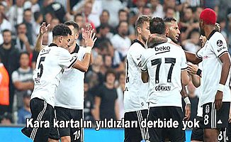 Beşiktaş'ta Pepe ve Babel derbide yok