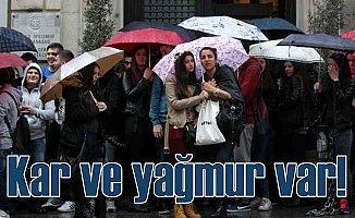 Bugün hava nasıl olacak; İstanbul'da yağmur uyarısı