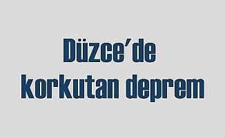 Düzce'de deprem paniği; Gölyaka 3.4 ile sallandı