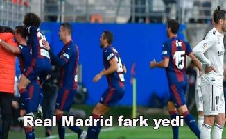 Eibar 3- Real Madrid 0