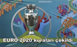 EURO 2020 rakiplerimiz belli oldu
