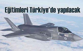 F-35 uçakları için piloteğitimi Türkiye'de yapılacak