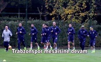 Fenerbahçe,Trabzonspor hazırlıklarına devam etti.