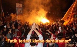 Galatasaray taraftarları TFF'yi protesto etti