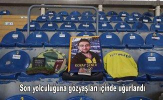 Genç Fenerbahçeli Koray Şener son yolculuğuna uğurlandı