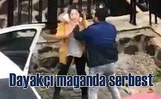 Kadın dayakçısı yakalandı, serbest bırakıldı