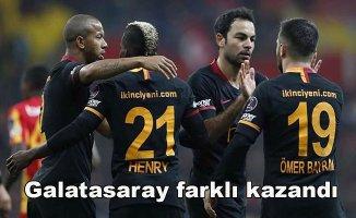 Kayserispor 0- Galatasaray 3