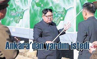 Kuzey Kore Türkiye'den insani yardım istedi