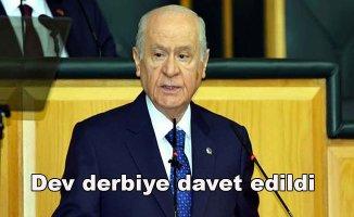 MHP Genel Başkanı Devlet BahçeliRoma - Real Madrid maçına davet edildi