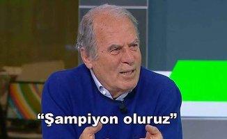 Mustafa Denizli şampiyonluk için iddialı konuştu