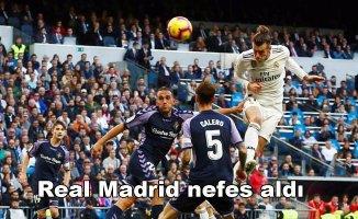 Real Madrid 2- Real Valladolid 0