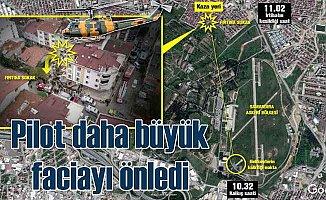 Sancaktepe'de helikopter düştü: Şehit pilotun kahramanlığı