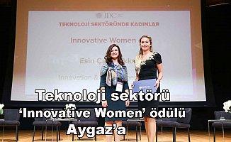 Teknoloji sektörünün Oscar'ından Aygaz'a ödül