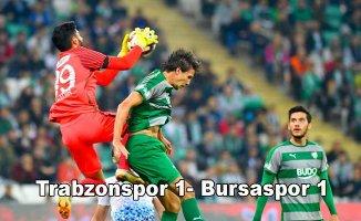 Trabzon'da puanlar paylaşıldı