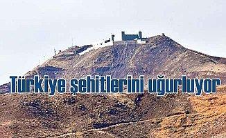 Türkiye Şemdinli Derecik Şehitleri uğurluyor