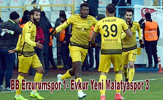BB Erzurumspor evinde kaybetti