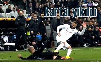 Beşiktaş Malmö karşısında kendi sahasında çöktü
