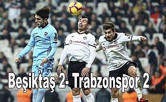 Beşiktaş uzatmalarda beraberliği yakaladı