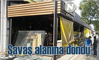 Bursa Nara Cafe'de patlama; Bina tahliye edildi