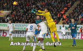 Çaykur Rizespor 1- MKE Ankaragücü 1