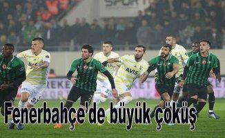 Fenerbahçe dibe vurdu