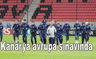 Fenerbahçe, Spartak Tırnava ile oynuyor