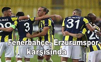 Fenerbahçe BB Erzurumspor karşısında