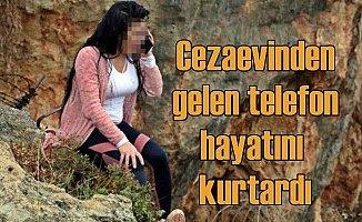Genç kızın hayatını, babasından gelen telefon kurtardı