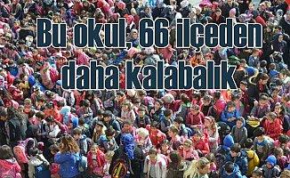 İlk okulda öğrenci sayısı 66 ilçeyi solladı