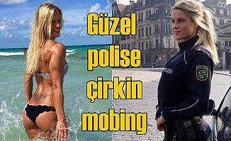 Kadın polisin güzelliği başına bela oldu