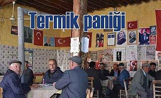 Konya'da vatandaştan termik santraline tepki