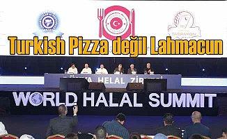 Milli Mutfak Hareketi başladı; Turkish Pizza değil Lahmacun