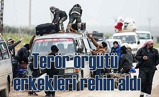 PKK'lı teröristler erkekleri rehin alıyor