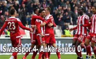 Sivasspor gol oldu yağdı