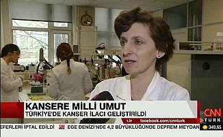 Türkiye'nin ilk yerli kanser ilacı geliyor