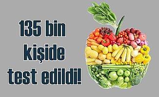 Üç porsiyon sebze ve meyve yaşam süresini artırıyor mu?