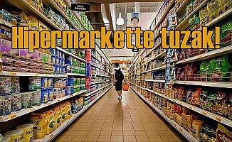 Ünlü hipermarkette 15 yaşındaki çocuğu şok tuzak