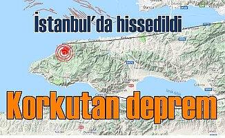 Yalova Çınarcık'da korkutan deprem; 4.5