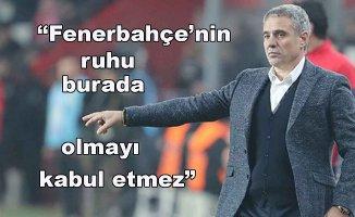 """Yanal """"Fenerbahçe şeklen buradadır"""""""