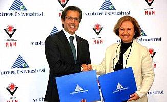 Yeditepe Üniversitesi ve TÜBİTAK MAM'dan Bilim için İşbirliği