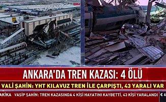 Yüksek Hızlı Tren, üst geçide çarptı, 4 ölü 43 ölü var