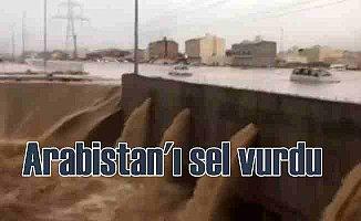 Arabistan'da şiddetli yağmur, Medine'yi sel vurdu