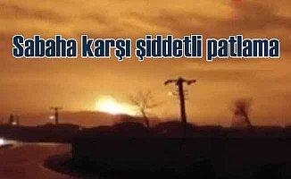 Arifiye'de şiddetli patlama: Doğal Gaz Boru Hattı patladı