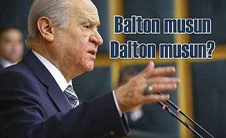Bahçeli küstah Amerikalı'nın haddini bildirdi: Balton musun? Dalton musun