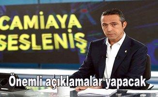 """Başkan Ali Koç """"Camiaya sesleniş programını"""" çarşamba gününe aldı"""