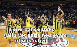 Fenerbahçe Beko, Baskonia'yıkonuk ediyor