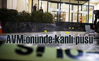 GOP'ta AVM önünde kadına silahlı saldırı