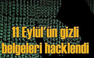 Hacker grubu 11 Eylül belgelerini ele geçirdi