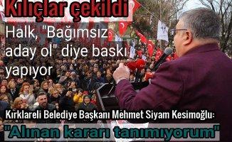 Kırklareli CHP'de adaylık çıkmazı